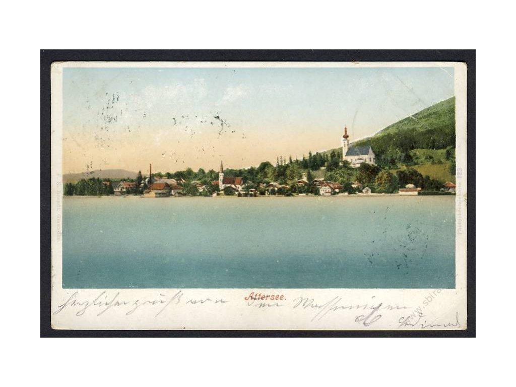 Austria, Upper Austria, Attersee, cca 1900