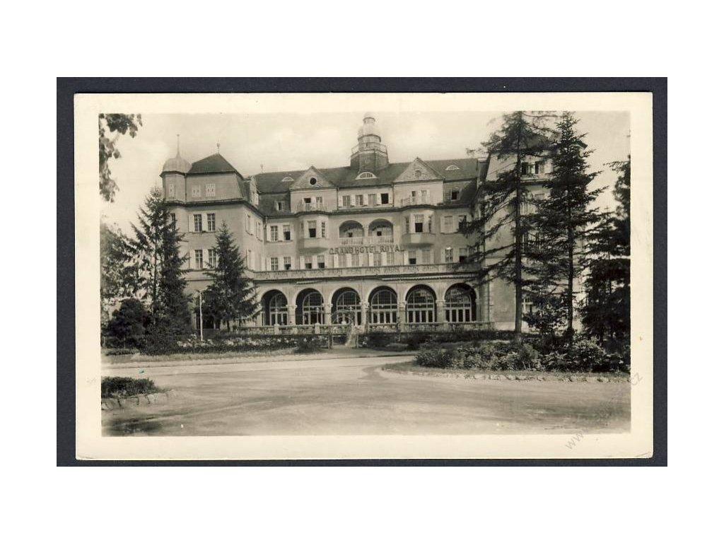 Slovensko, Piešťany, Grand Hotel Royal, cca 1949