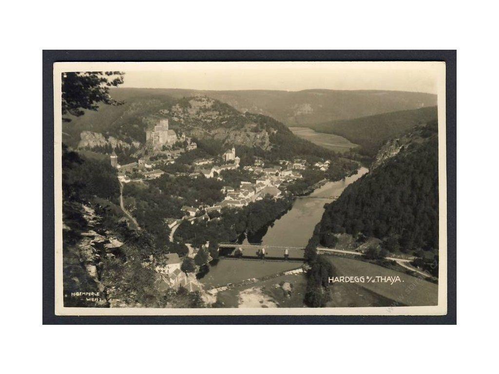 Austria, Lower Austria, Hollabrunn, Hardegg, cca 1910