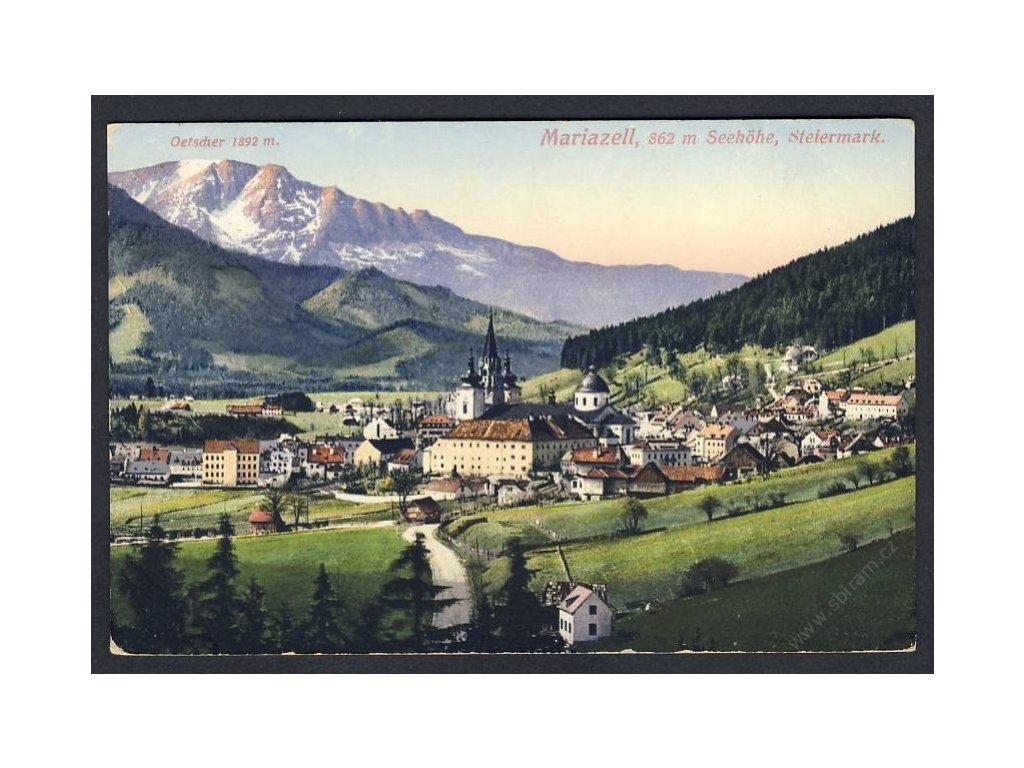 Austria, Styria, Mariazell, cca 1915