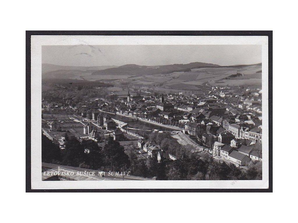 28 - Šumava, Sušice. Horské klimatické místo na Otavě, cca 1938