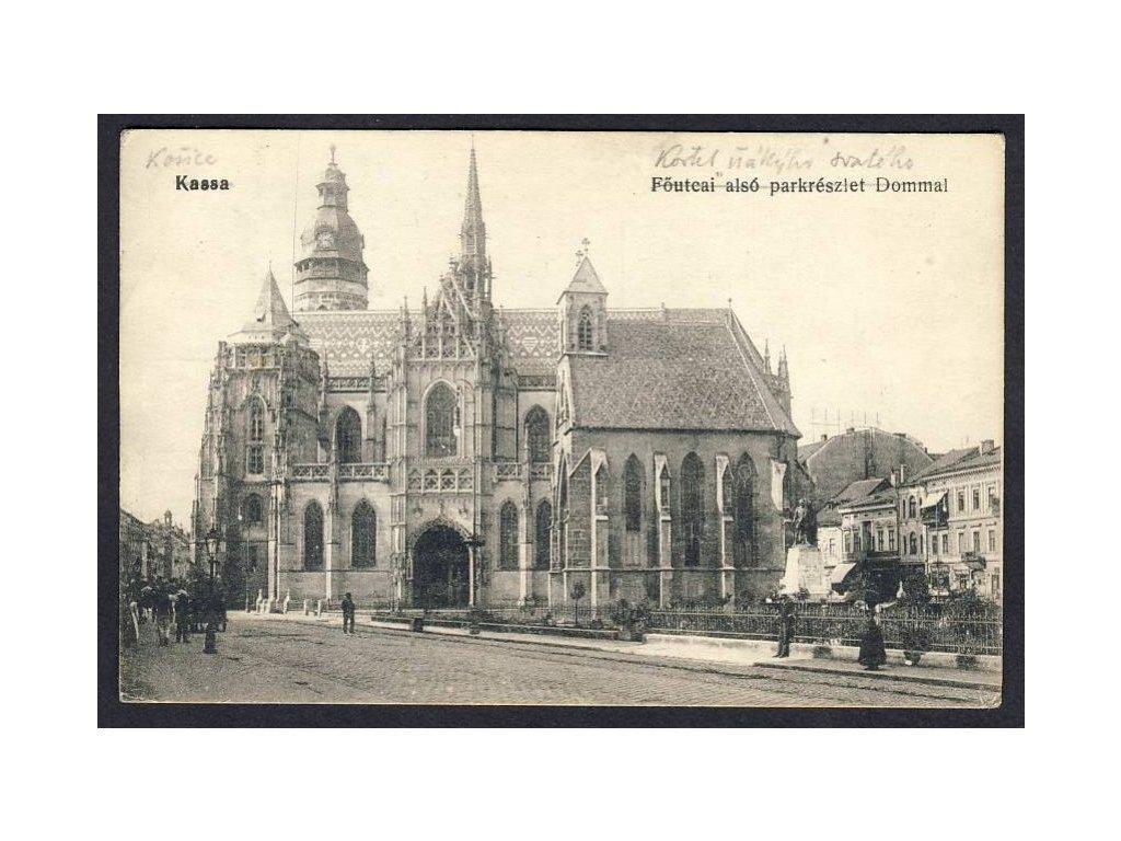 Slovensko, Košice, kostel Sv. Michala, cca 1918