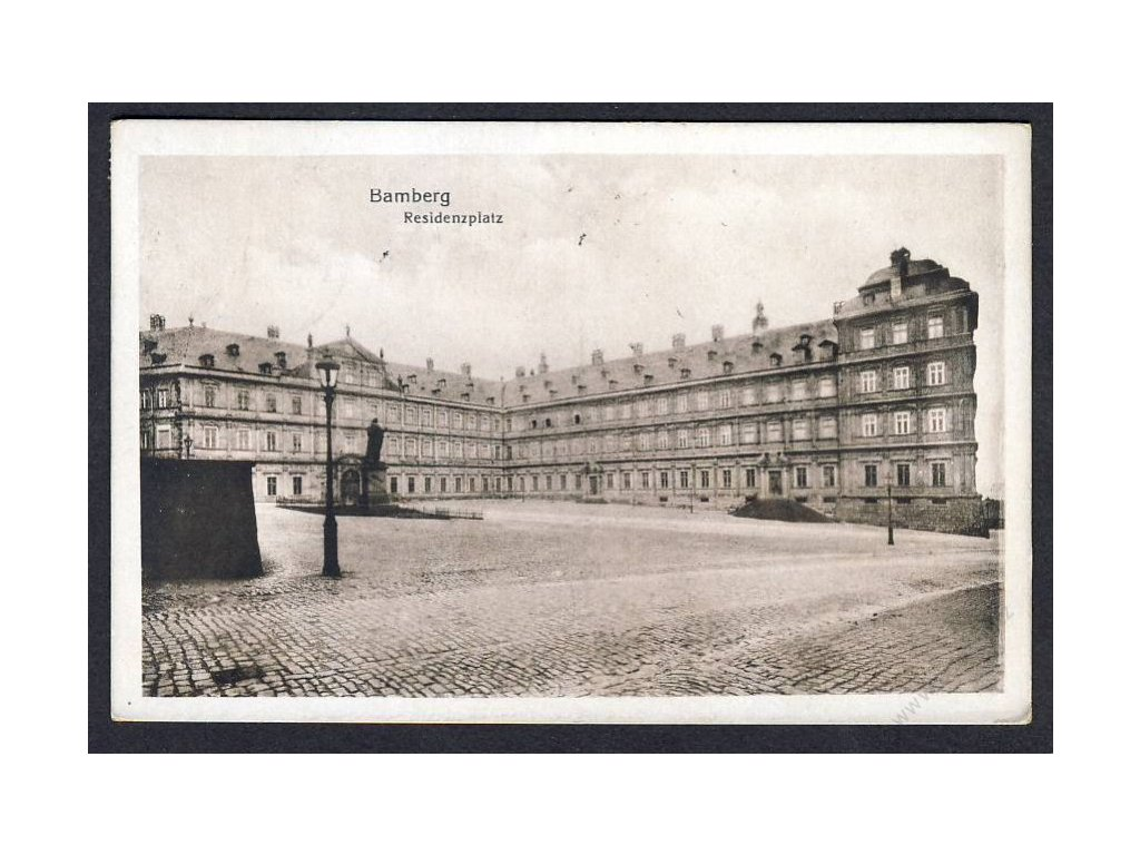 Germany, Bavaria, Bamberg, residence space, cca 1922