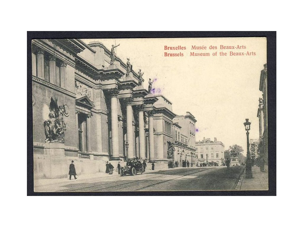 Belgium, Brussels, museum of the Beaux-Arts, cca 1921