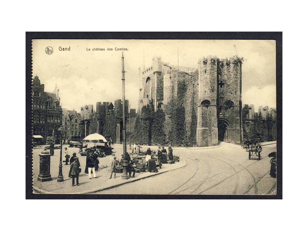 Belgium, East Flanders, Ghent, Gravensteen, cca 1913