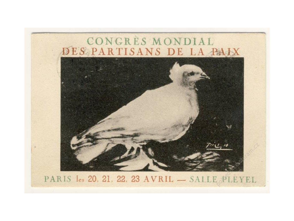 Světový kongres příznivců míru, Paříž, ca 1949
