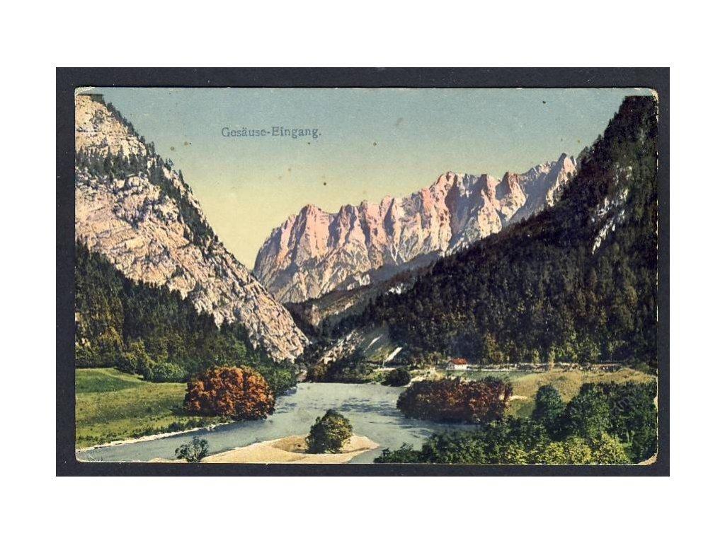Austria, Styria, Gesäuse National Park, cca 1918