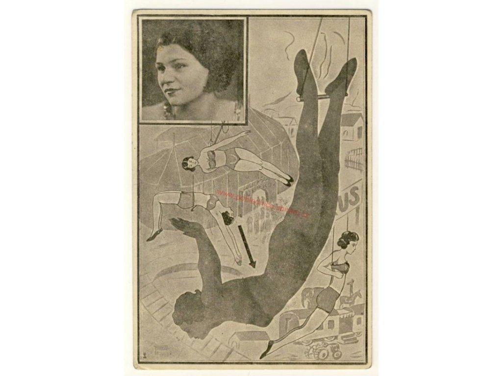 Artistka, cca 1930