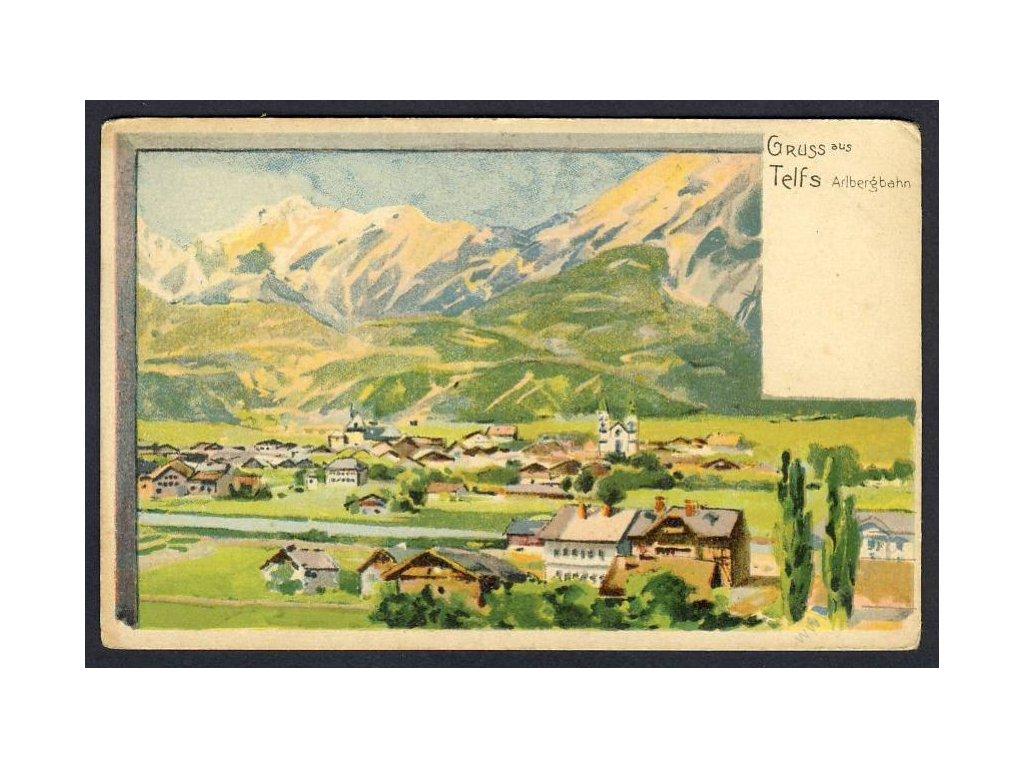 Austria, Innsbruck-Land, Telfs, cca 1900