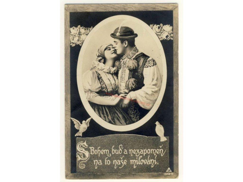 S bohem buď a nezapomeň.., cca 1920
