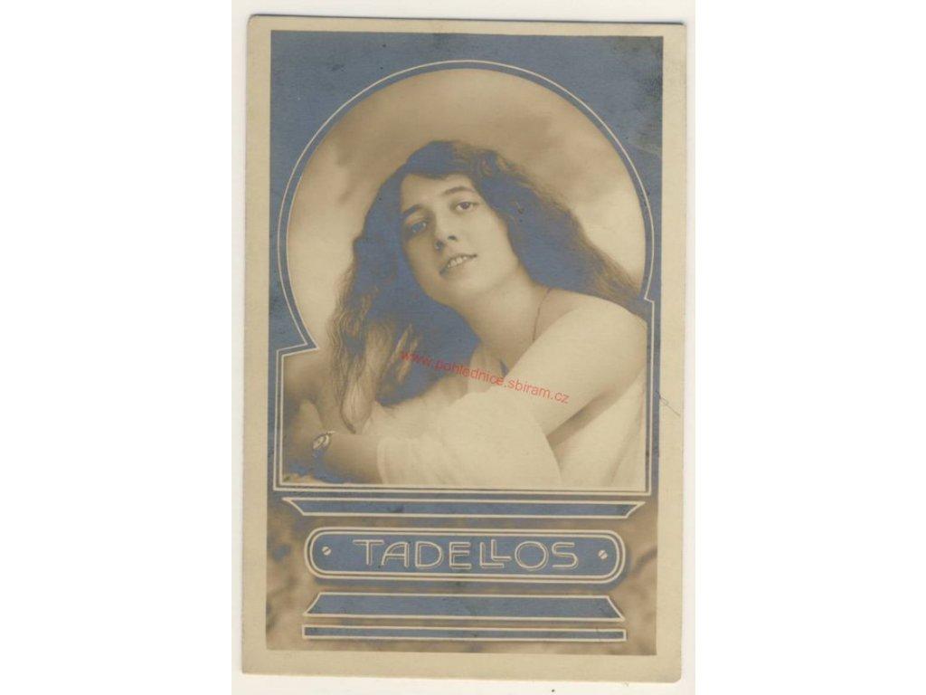 Reklamní Pohlednice, cca 1910