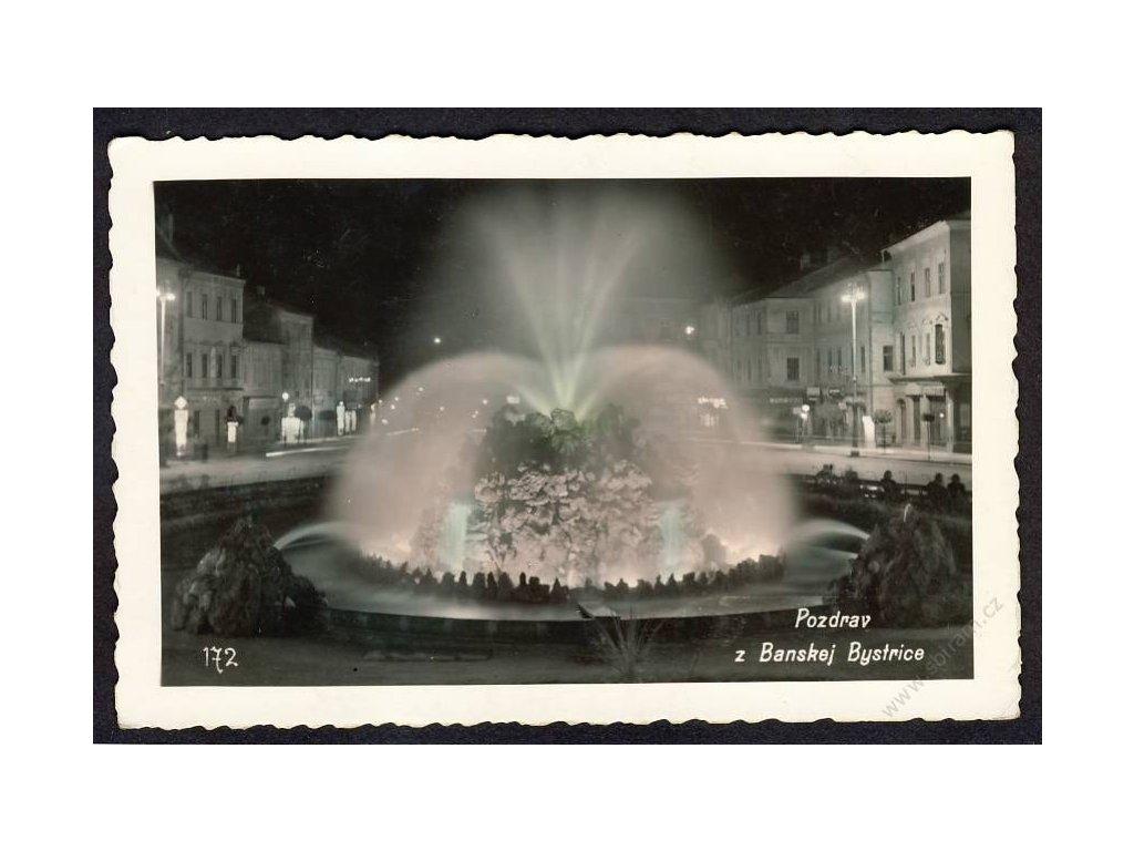 Slovensko, Banská Bytrica, cca 1925
