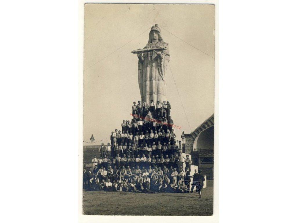 Skupinové foto, cca 1915
