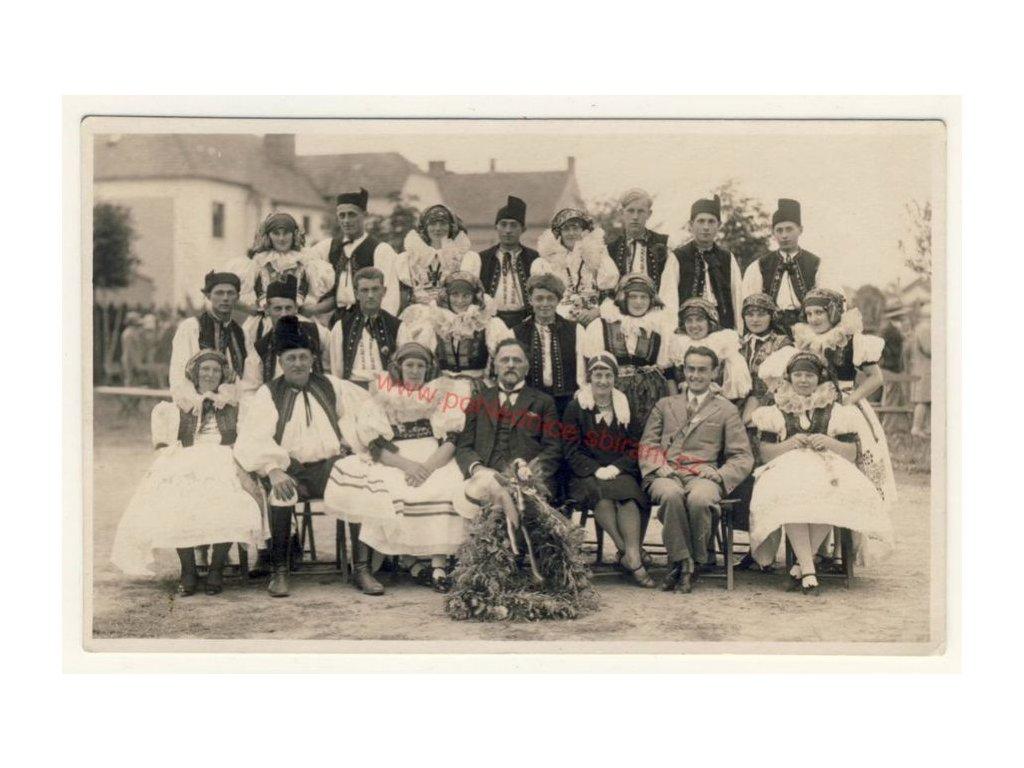 Skupinové foto, cca 1925