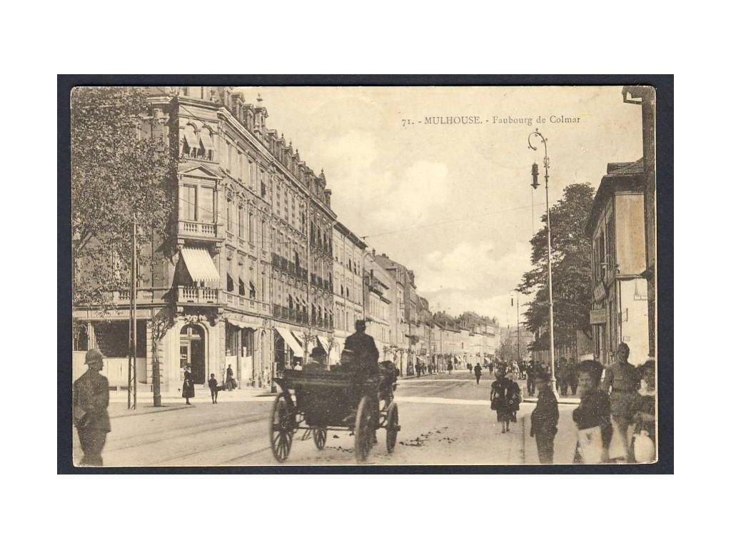 France, Mulhouse, Suburbs of Colmar, cca 1921