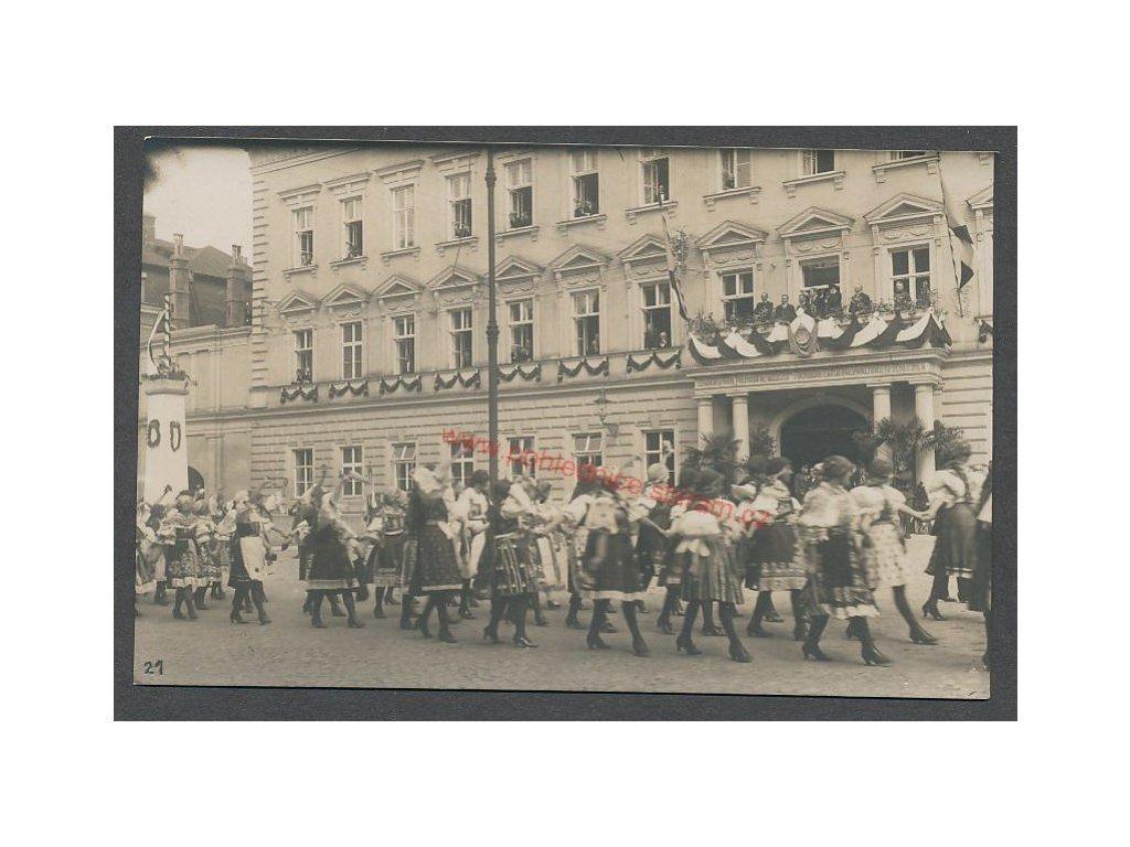 Návštěva Masaryka, cca 1924