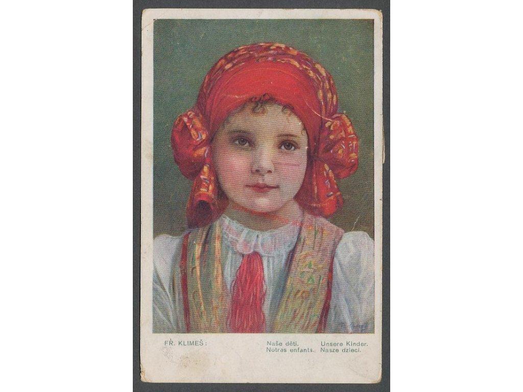 Fr.Klimeš, Naše děti, cca 1920