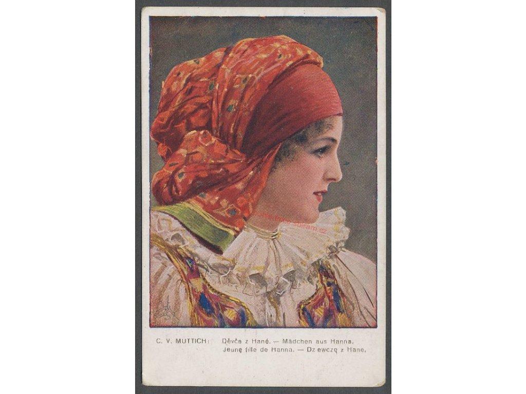 Děvče z Hané, cca 1921