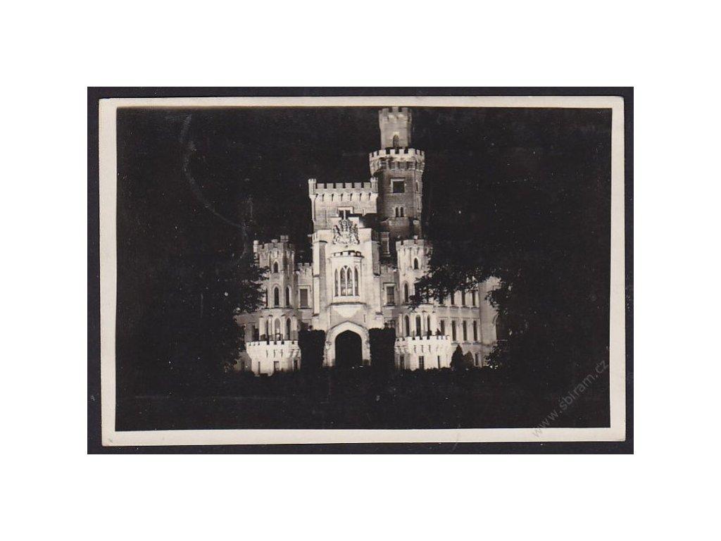 12 - České Budějovice, zámek Hluboká na Vltavě, nákl. J.Wolf, cca 1915