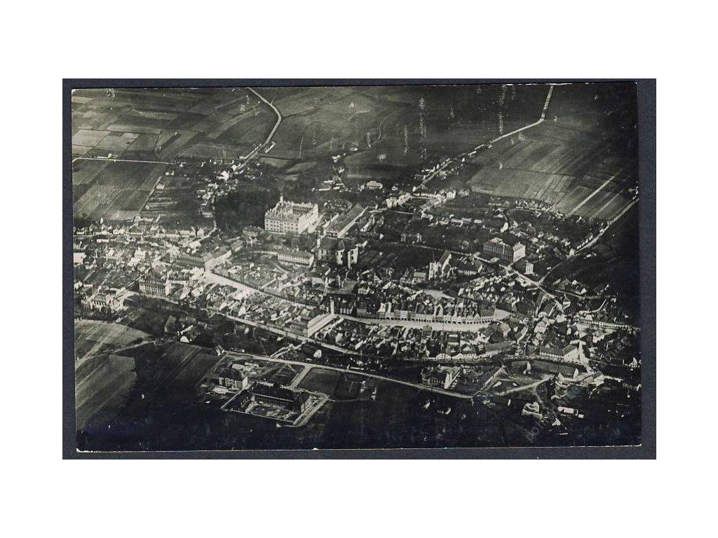 61 - Svitavsko, Litomyšl, pohledy z letadla, nakl. Klub čsl. turistů, cca 1922