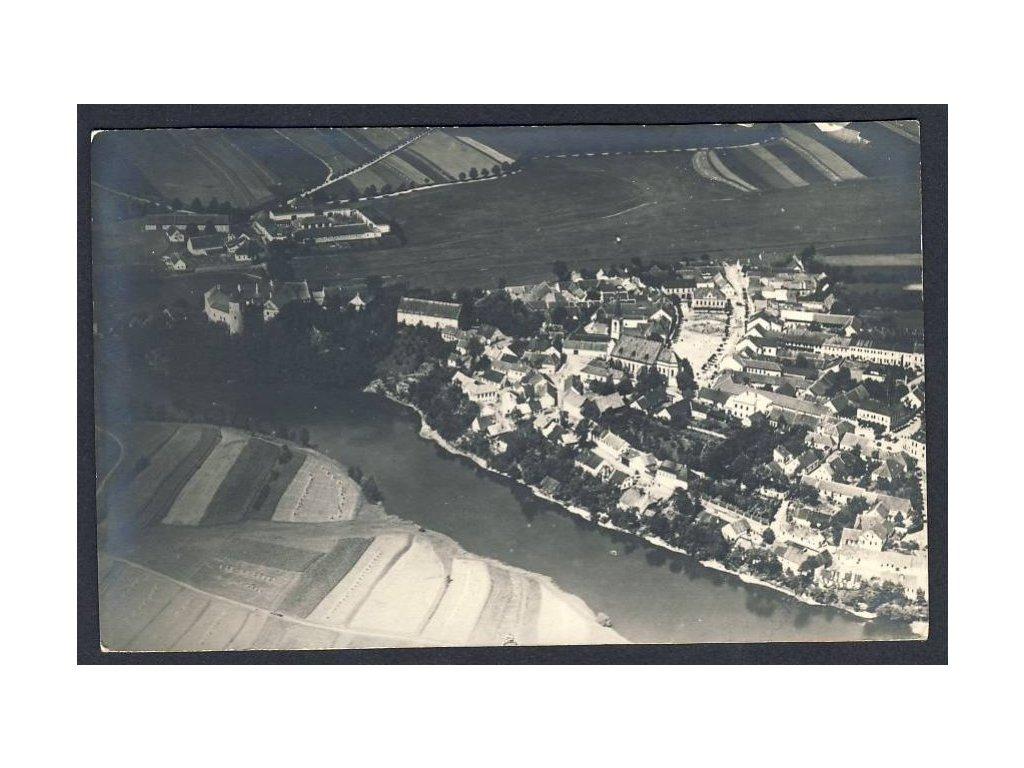 45 - Pelhřimovsko, Žirovnice, pohledy z letadla, nakl. Klub čsl. turistů v Praze, cca 1922