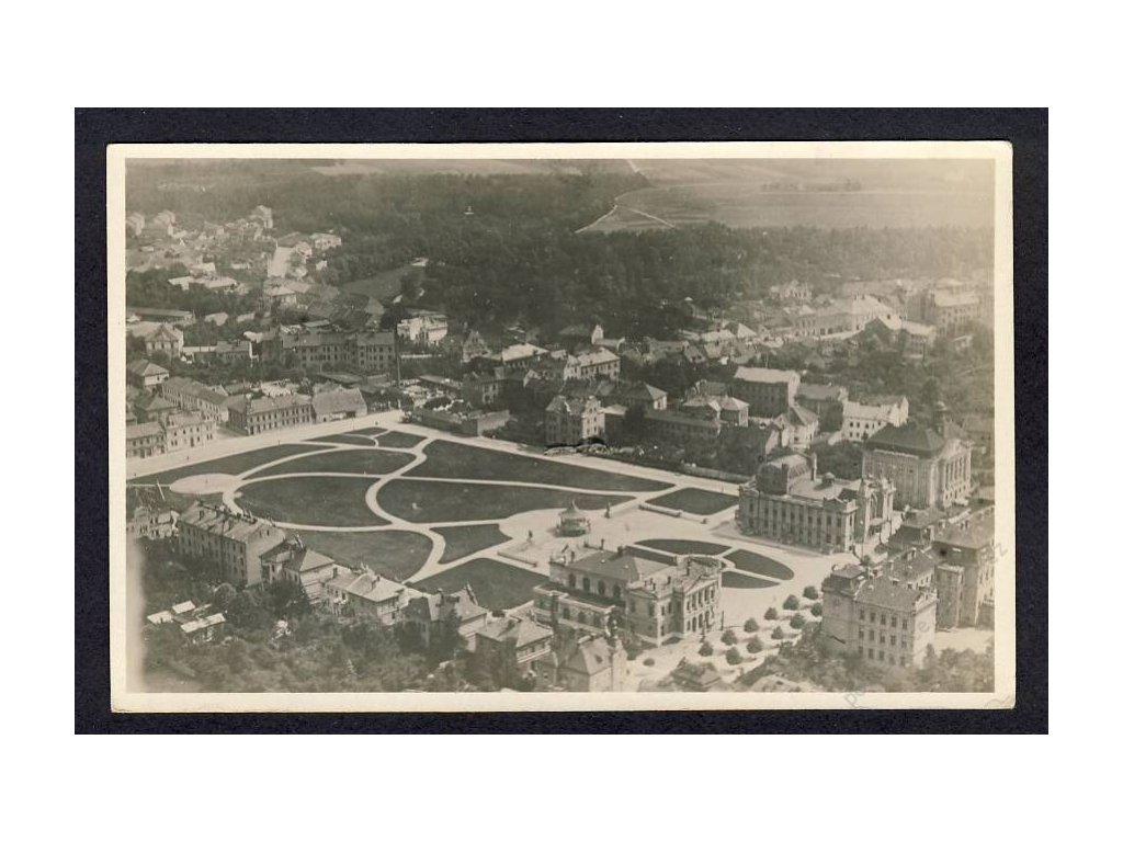 36 - Mladá Boleslav, Výstaviště, pohledy z letadla, nakl. Klub čsl. turistů, cca 1922
