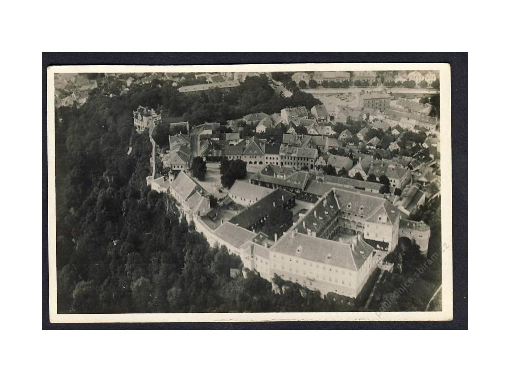 34 - Lounsko, Opočno, pohledy z letadla, nakl. Klub čsl. turistů v Praze, cca 1922