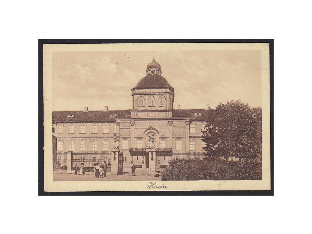 02 - Berounsko, Hořovice, nový zámek, cca 1925