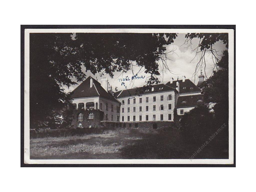 24 - Jindřichohradecko, Třeboň, zámek, nakl. Semrád, cca 1935