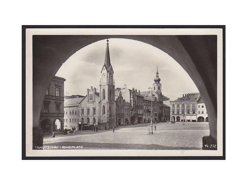 66 - Trutnov, náměstí, cca 1934
