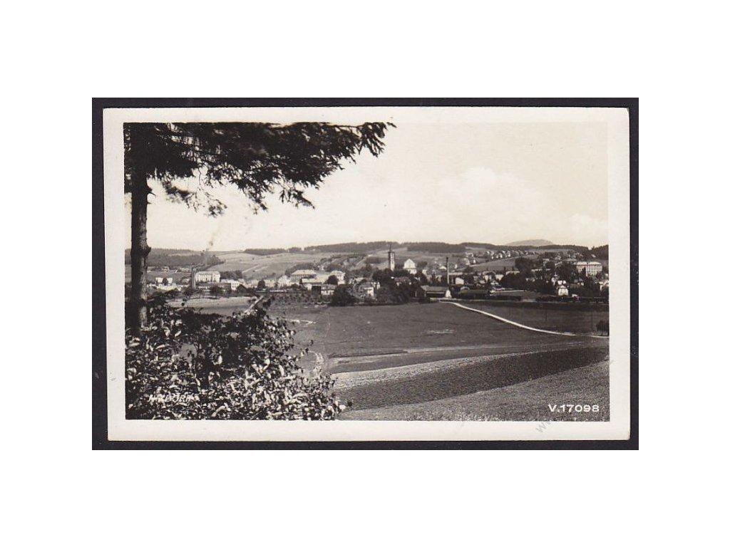 13 - Českokrumlovsko, Nový Bor, cca 1936