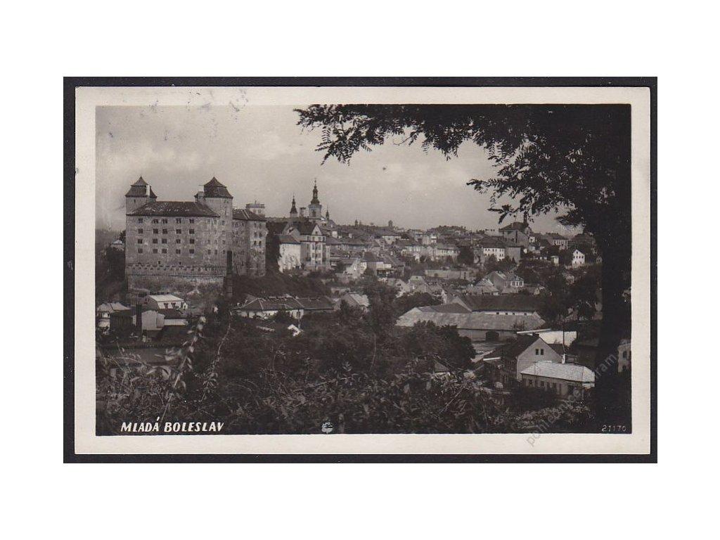 36 - Mladá Boleslav, pohled na město, cca 1932