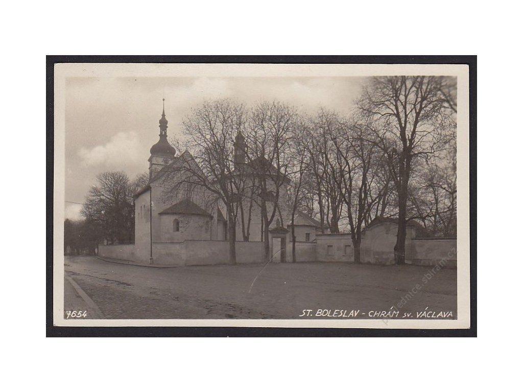 50 - Praha-východ, Stará Boleslav, chrám sv. Václava, cca 1929