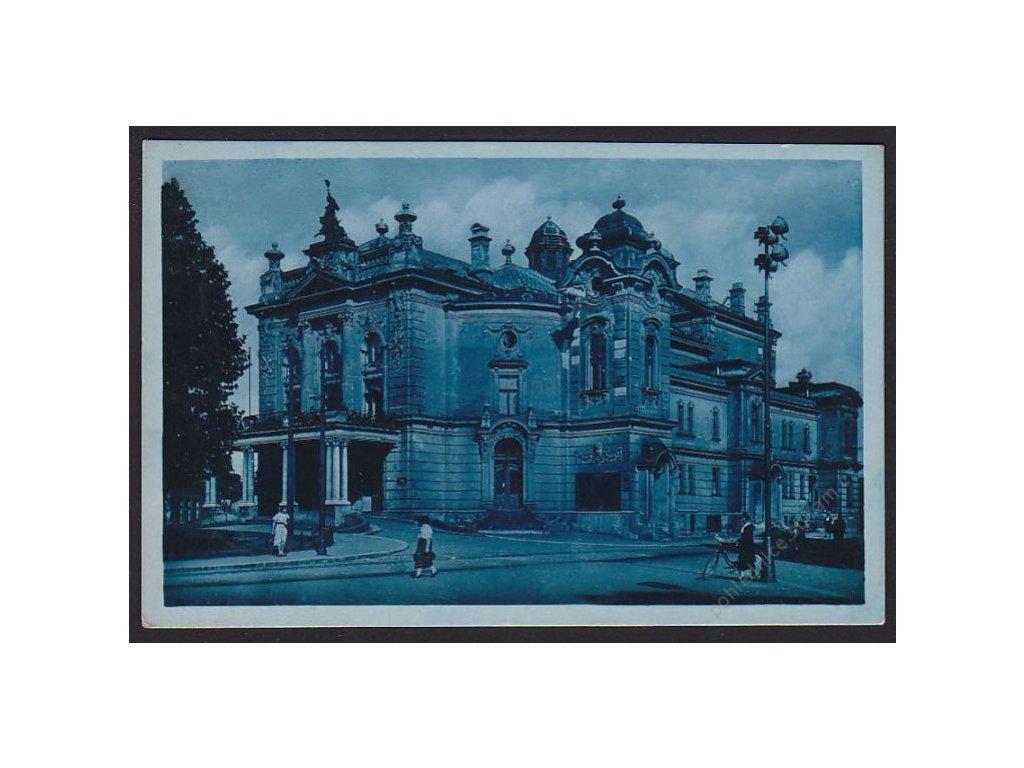 43 - Ostrava, (Ostrau), Mor. Ostrava, státní divadlo, cca 1942