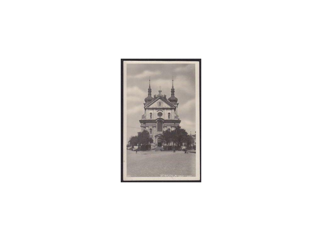 50 - Praha-východ, Stará Boleslav, chrám panenky Marie, cca 1930