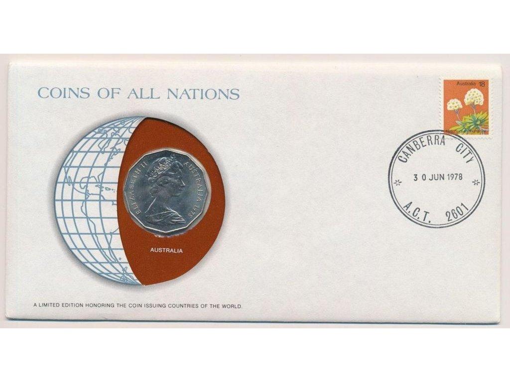 Austrálie, mincovní obálka, , 1978, sběratelská jakost, hledané