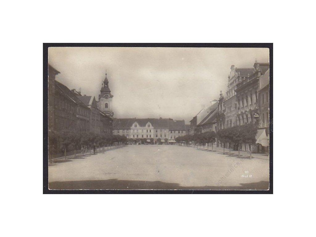46 - Písek, náměstí, cca 1928