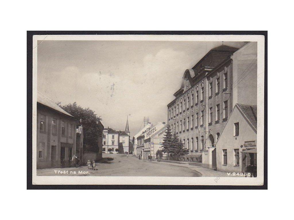 23 - Jihlavsko, Třešť na Moravě, foto Fon, cca 1935