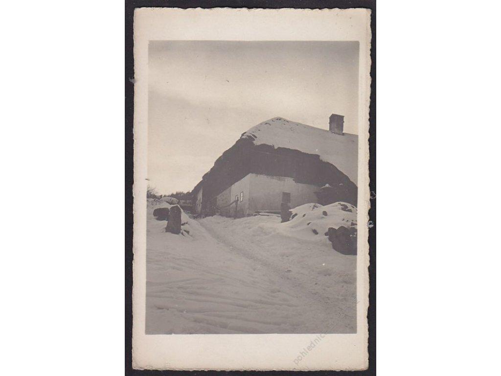 13 - Českokrumlovsko, Dolní Dvořiště, Klepanov, cca 1915