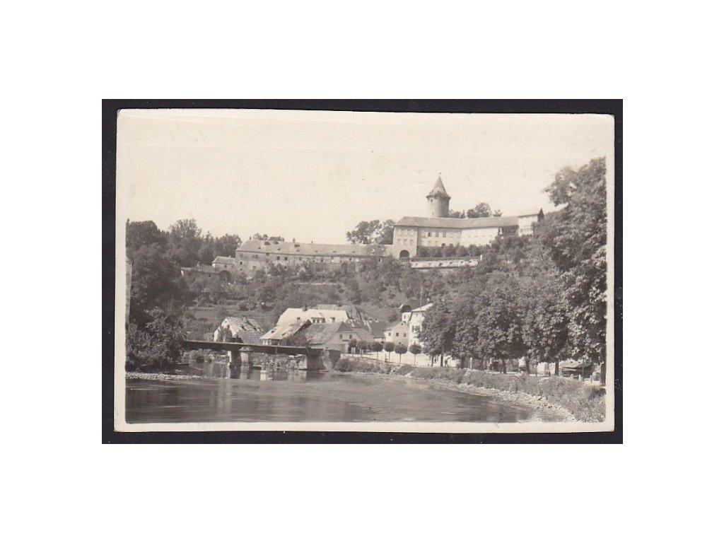 24 - Jindřichohradecko, Rožmberk nad Vltavou, nakl. a foto Wolf, cca 1923