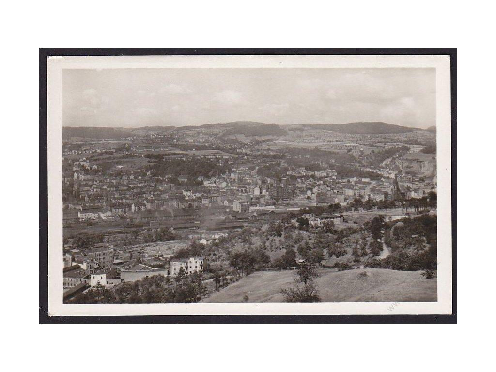 69 - Ústní nad Labem, celkový pohled, foto Švec, cca 1935
