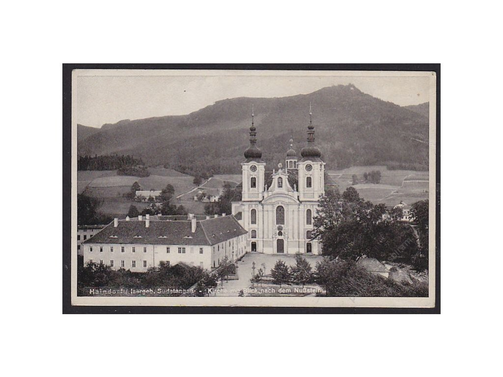 32 - Liberecko, Hejnice, kostel, cca 1940