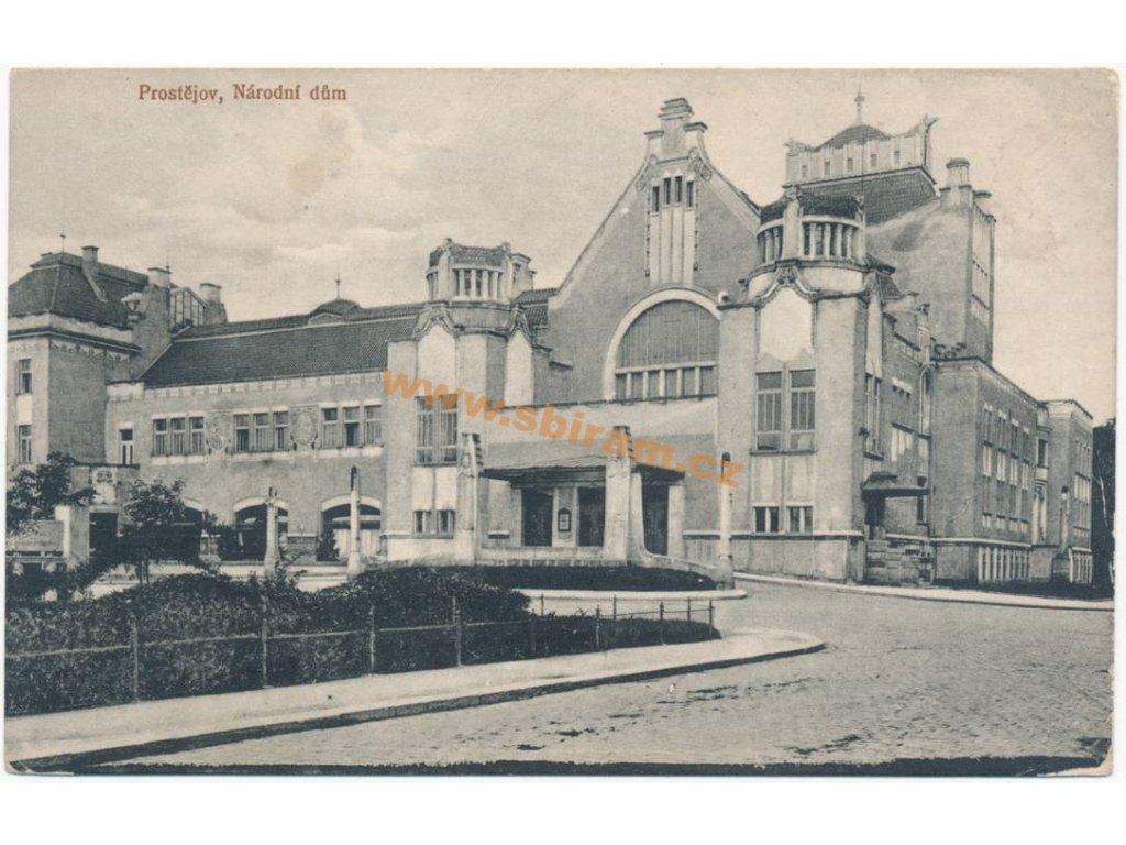 52 – Prostějov, Národní dům, ca 1916