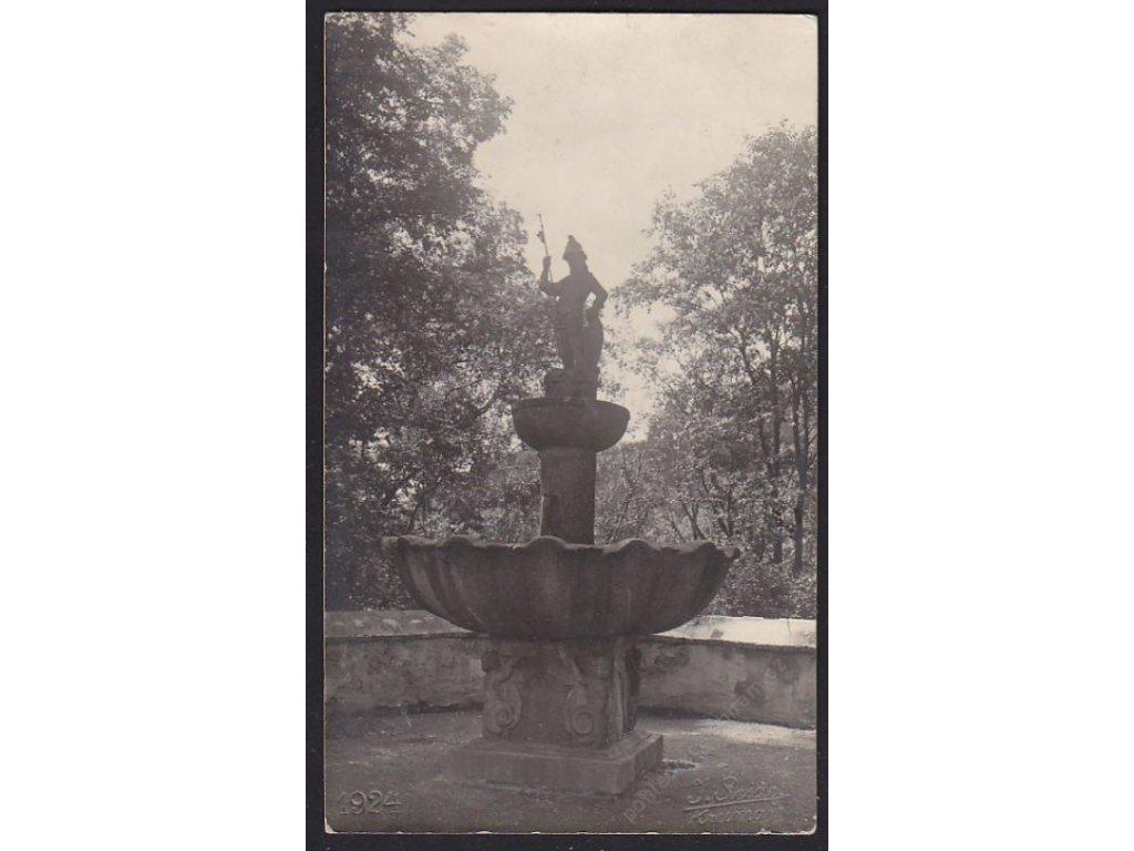 13 - Českokrumlovsko, Horní Planá, foto Seidel, cca 1924