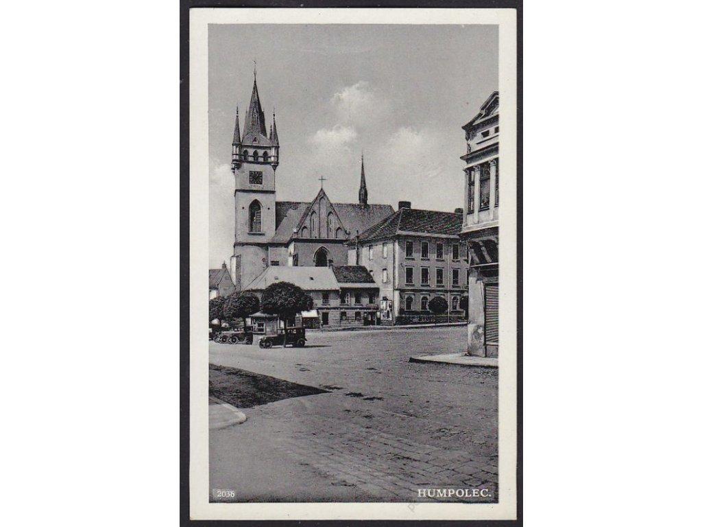 45 - Pelhřimovsko, Humpolec, cca 1930