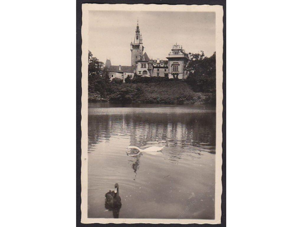 51 - Praha-západ, zámek Průhonice, cca 1940