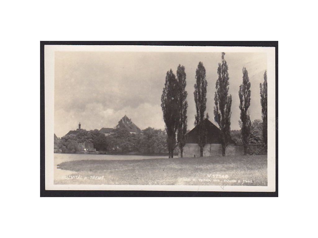 54 - Příbramsko, Rožmitál pod Tremšínem, foto Fon, cca 1930