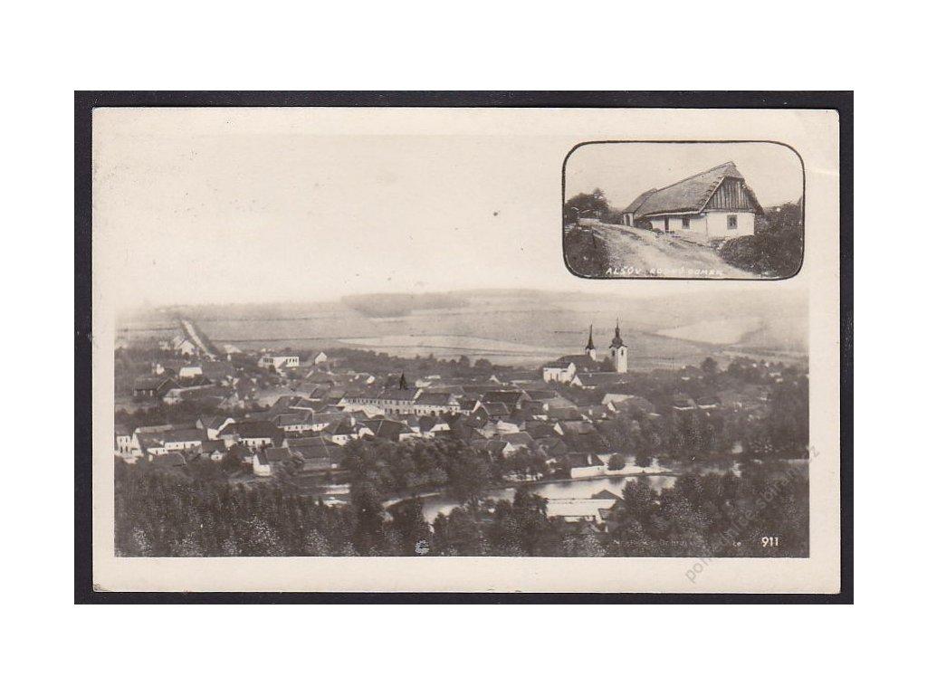 46 - Písecko, Mirotice (Mirotitz), foto Fon, cca 1940