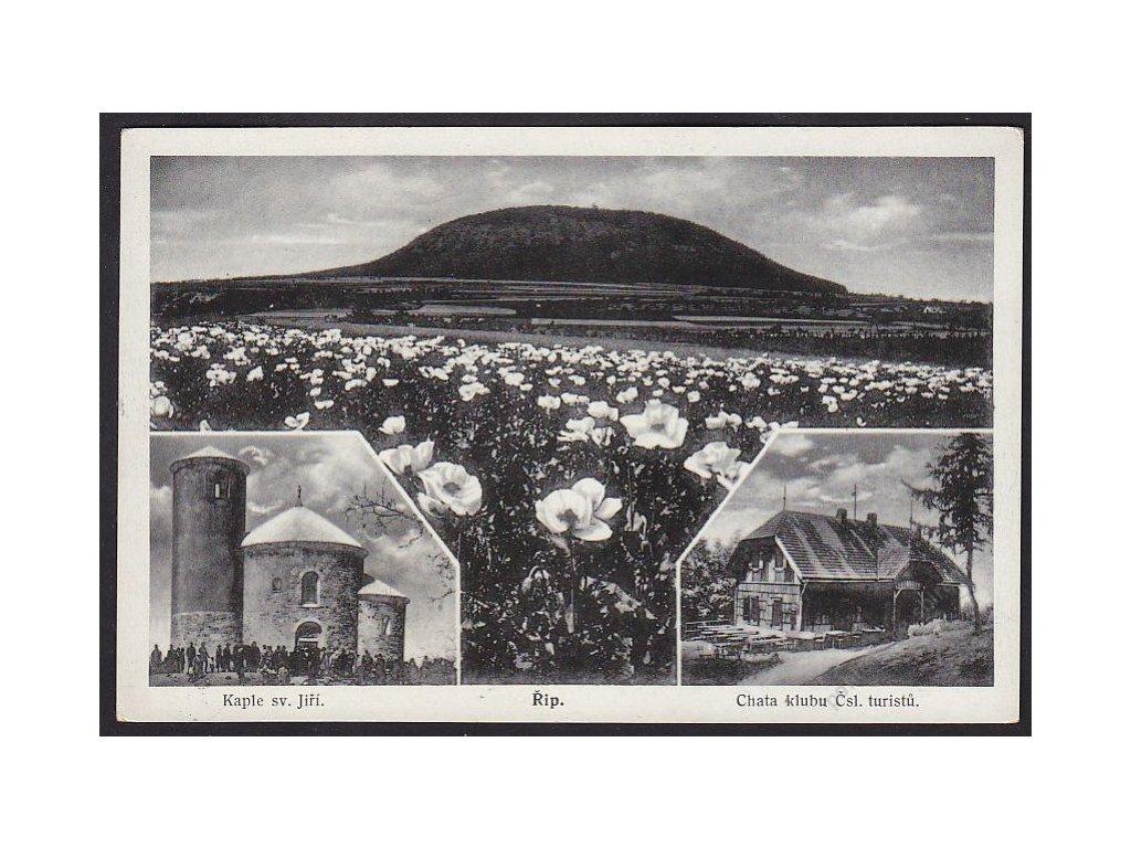 33 - Litoměřicko, Říp u Roudnice nad Labem, nakl. Kaška, cca 1935