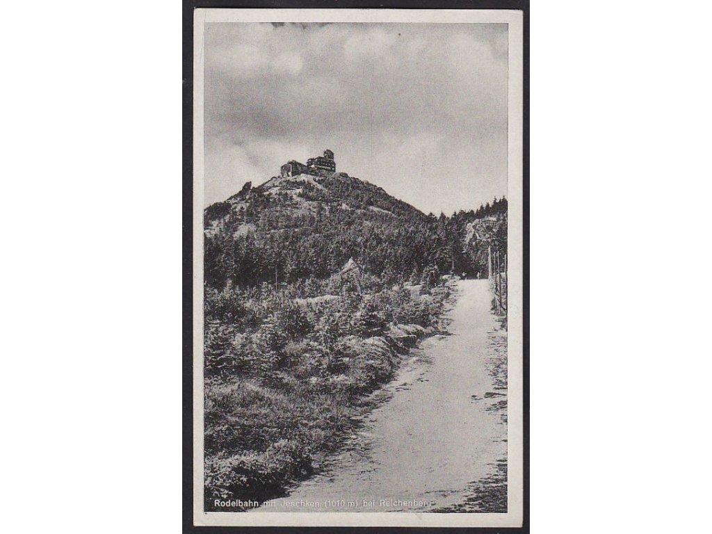 32 - Liberecko, Ještěd (Jeschken), cca 1940